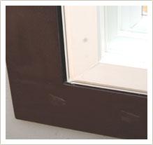 maintenence free egress window frame